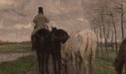 Anton Mauve: Huiswaarts (1874)